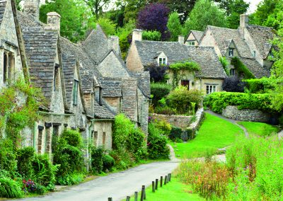 Cotswold village of Bibury