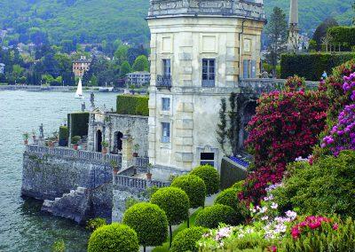 Borromäische Gärten auf der Isola Bella im Lago Maggiore